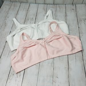 New Comfort Choice Cotton Wirefree Full Figure Bra